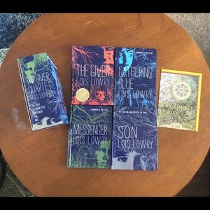 The Giver Quartet (4 books) by Lois Lowry
